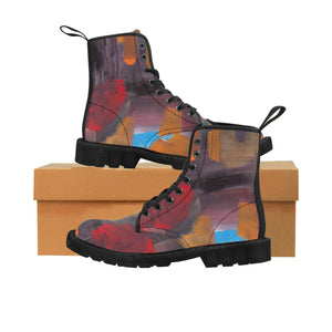 CAVE  VIEW  UNISEX Canvas Boots  SIZES  7 - 10
