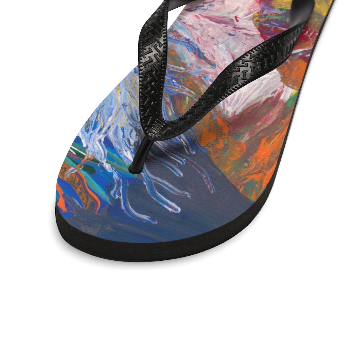 Sea Life Unisex Flip-Flops  SMALL - MEDIUM - LARGE