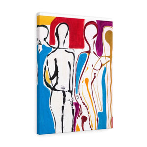 "4 BODIES  Canvas Gallery Wraps  24"" x 30"""