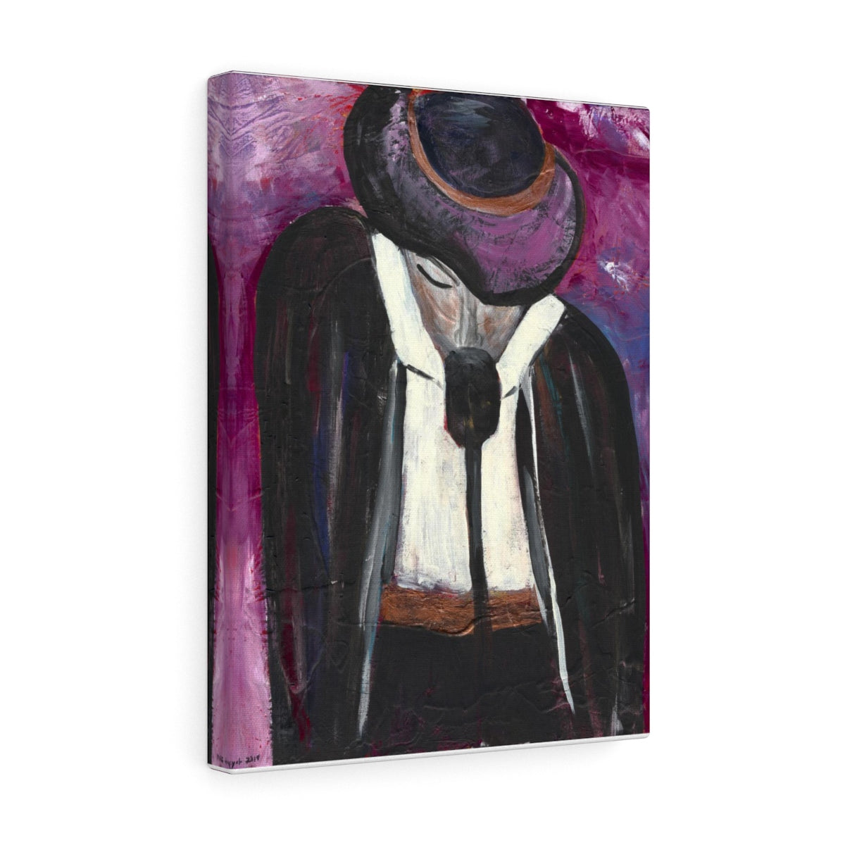 "THE ENTERTAINER Canvas Gallery Wraps   8"" x 10"""