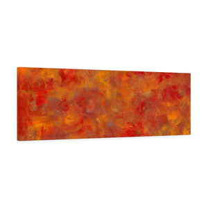 "LAVA FLOW Canvas Gallery Wraps  36"" x 12"""