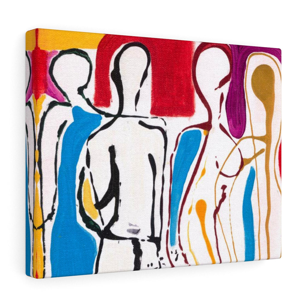 "4 BODIES Canvas Gallery Wraps  14"" x 11"""