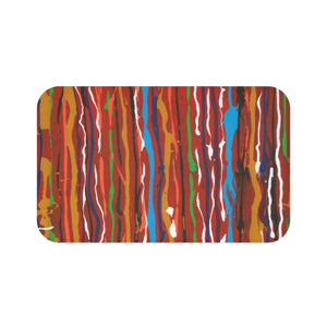 "CARNIVAL Bath Mat  LARGE  34"" x 21""  SMALL  24"" x 17"""