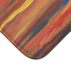 "SUNRISE SUNSET Bath Mat  LARGE 34"" x 21"""