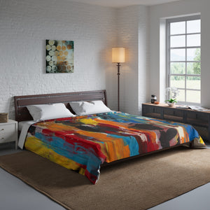 "COLOR FUSION  Comforter  68"" x 92"""