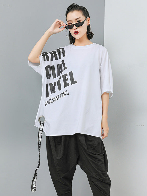 Loose Printed T-shirt