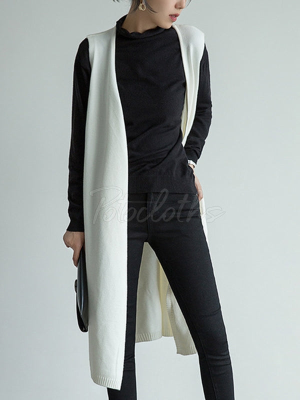 Casual Leisure Long Vest