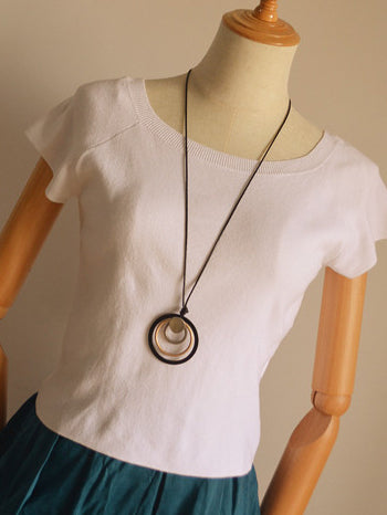 Simple Circle Series Necklace