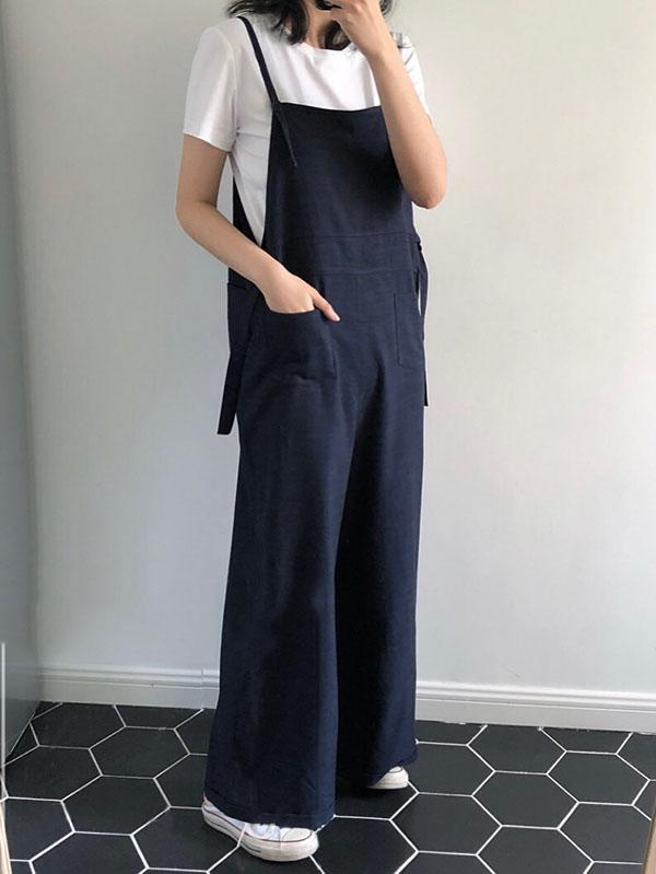 Loose BF Style Comfortable Jumpsuit