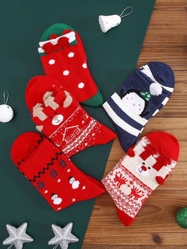 Christmas Elements Warm Thickening Socks