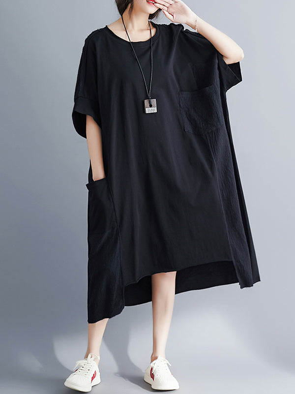 Super Loose Irregular Long Dress