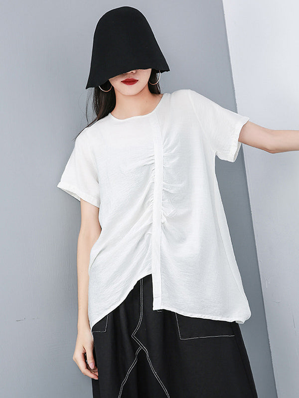 Elegant Ruffled T-shirts