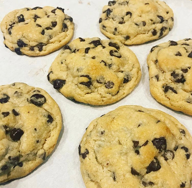 The Best Chocolate Chip Cookies.  Ever.