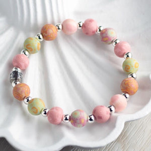 Pink Salt Classic Beaded Bracelet