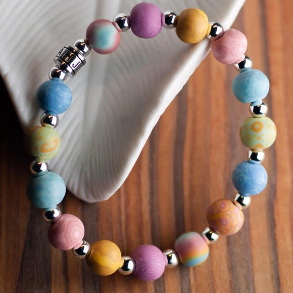 Salt Water Taffy Classic Beaded Bracelet