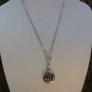 Aroma Therapy Locket - Silver Arrows