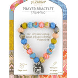Seashell Pastel Prayer Bracelet