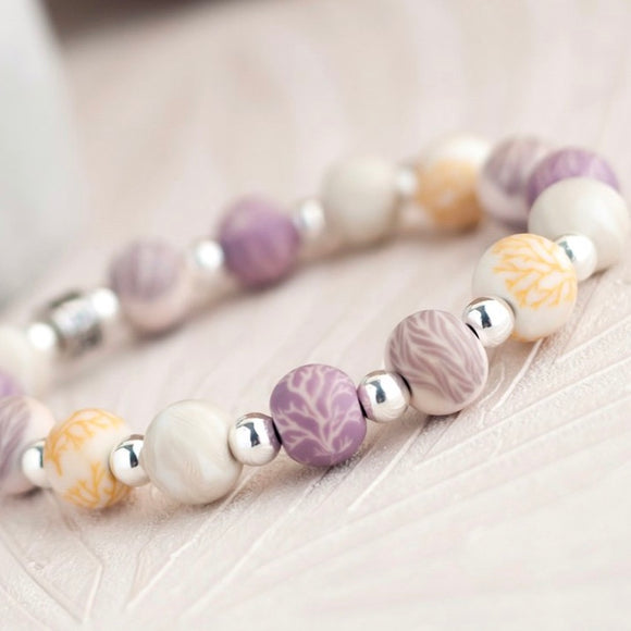 Summer Sand Classic Beaded Bracelet