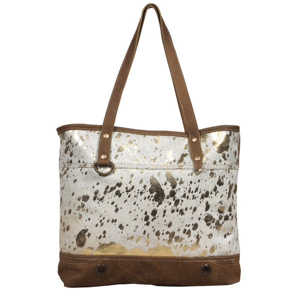 LARGISH LEATHER TOTE BAG #2036