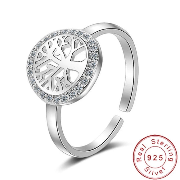 Sterling Silver Ring - Tree of Life