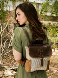 HANGING BUCKLE BACKPACK BAG - #1609