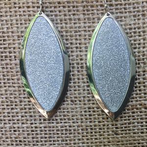 Elliptic Sparkling Earrings