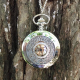 Open Work Filigree Pocket Watch