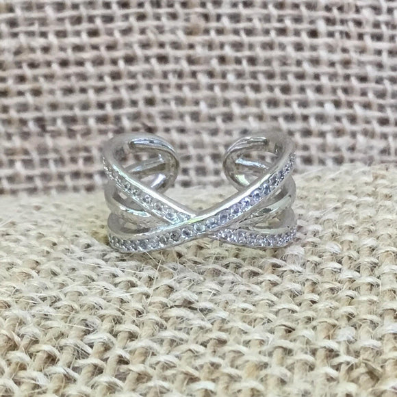 Sterling Silver Ring - Triple Band
