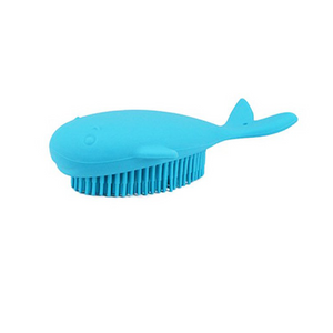 Baby Silicone Hair Body Bath Massager Brushes