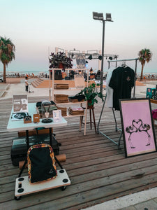 Our first Pop Up shop in Larnaca, Cyprus