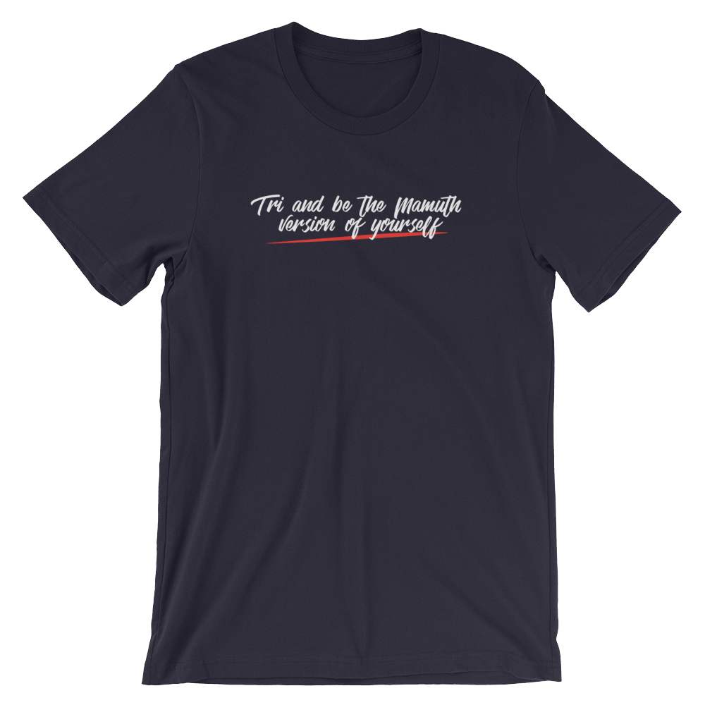 Tagline Short-Sleeve Unisex T-Shirt