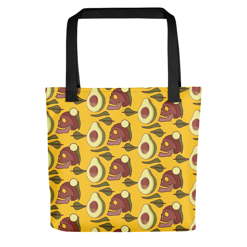 Avocado Skull Tote bag - TRIMAMUTH
