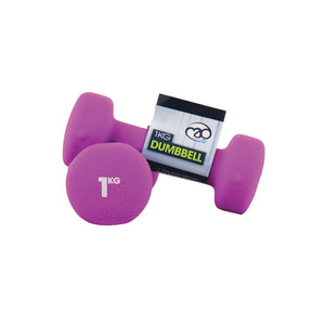 Fitness-Mad Neoprene Hanteln Set x 0.5kg - 5kg