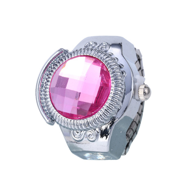 cut three sterling stone jewelry engagement lajerrio princess rings pink silver white sapphire