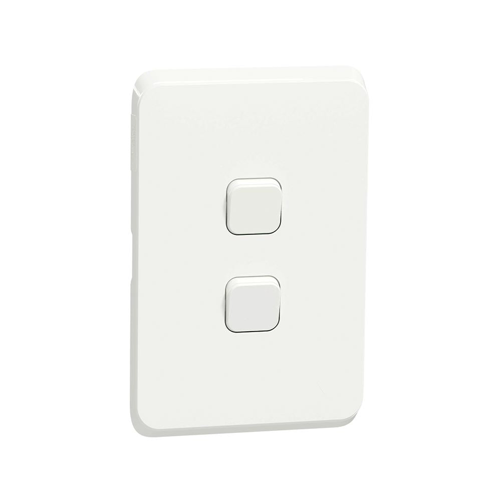 Schneider Electric Iconic 2 Lever 2 Way Light Switch