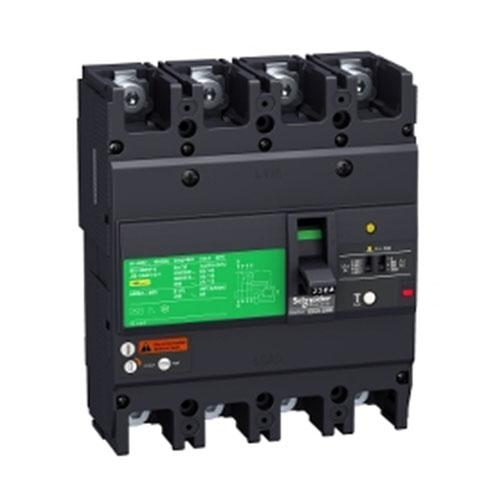 Schneider Electric EasyPact EZC MCCB with Earth Leakage Protection 4P 36kA 400/415V
