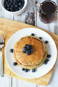 Blueberry Protein Pancake