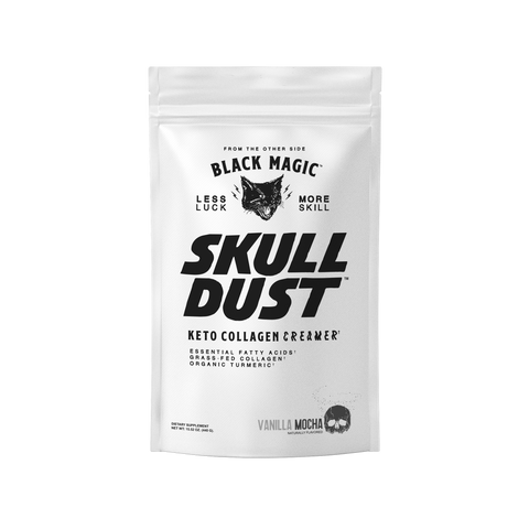 Skull Dust, Super Charged Coffee Replacement / Creamer / Protein Additive