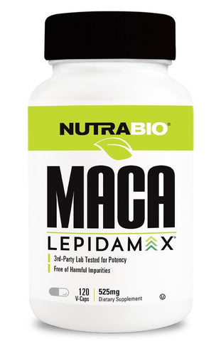Maca Lepidamax (525mg) 120 Vegetable Capsules