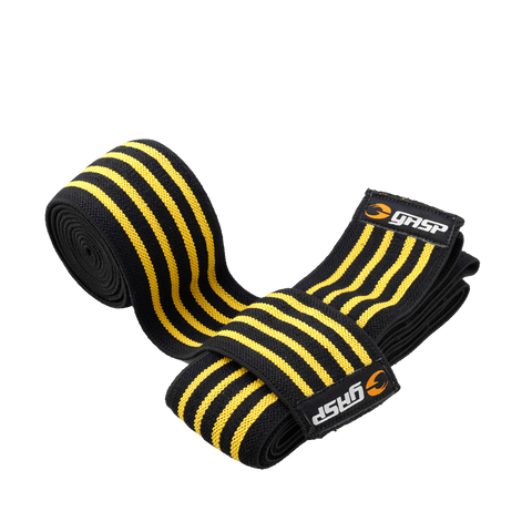 Knee Wraps, Black/Flame