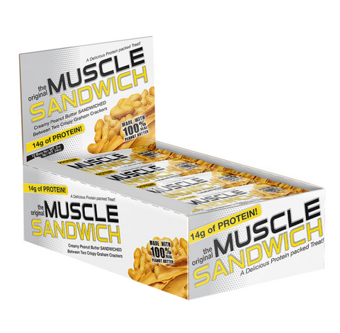 MF MUSCLE SANDWICH 12/57G ORIGINAL Peanut Butter