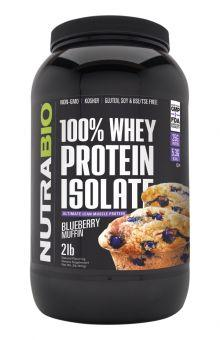 100% whey Protein isolate ( blueberry muffin)