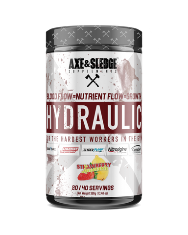 Hydraulic, Strawberry Lemonade (STIM FREE PREWORKOUT)