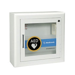 Physio-Control AED Cabinet - Surface-Mount with Alarm - Avid Safety