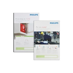 Philips AED Awareness Posters - 4 Pack - Avid Safety