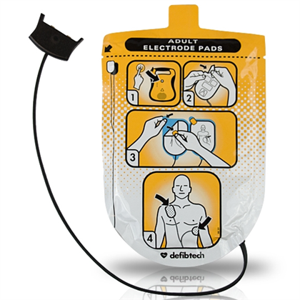 Defibtech Lifeline Adult AED Pads - Avid Safety