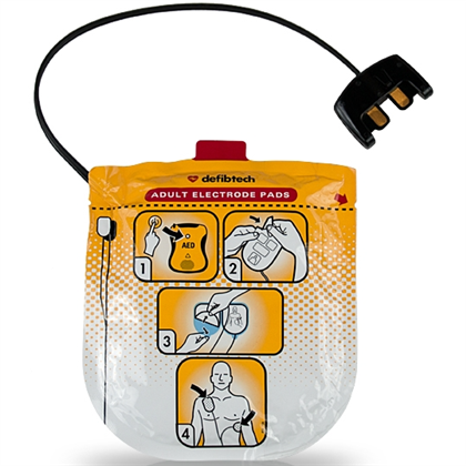 Defibtech Lifeline VIEW Adult AED Pads - Avid Safety