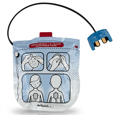 Defibtech Lifeline VIEW Pediatric Pads - Avid Safety