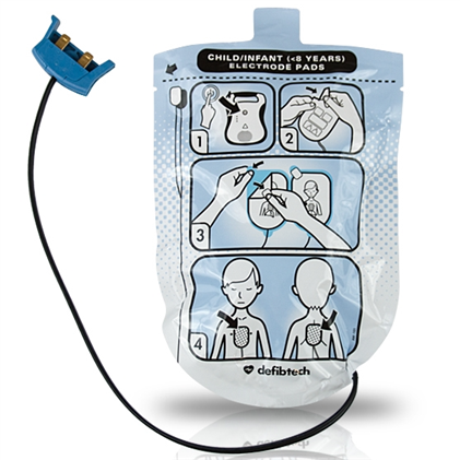 Defibtech Lifeline Pediatric AED Pads - Avid Safety