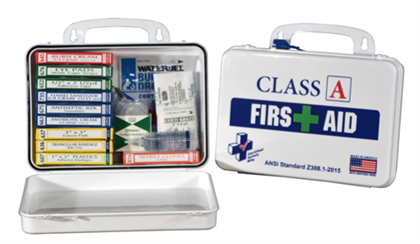 Class A First Aid Kit - 10 person - Avid Safety